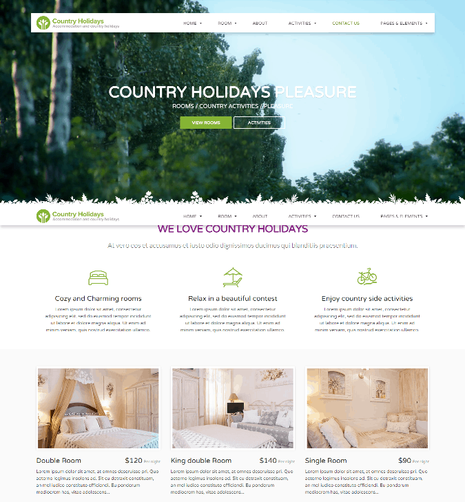 country-holidays-hotel-bed-wordpress-theme