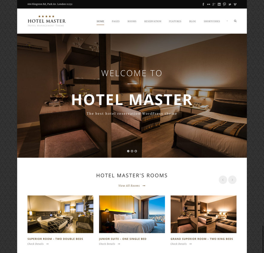 Set up a travel website with the best hotel wordpress for Top site reservation hotel