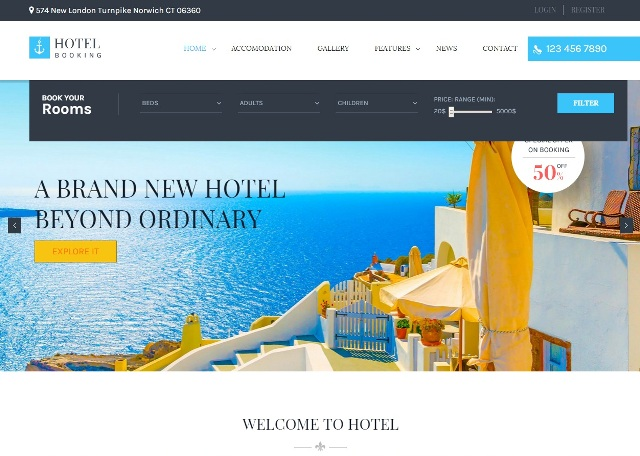 Set Up A Travel Website With The Best Hotel WordPress Themes For Hotel And Resort Websites White Digital